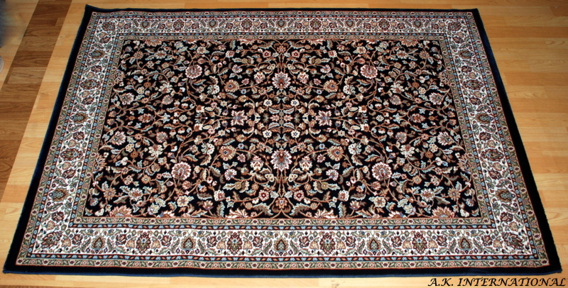 Standard size carpet traditional design
